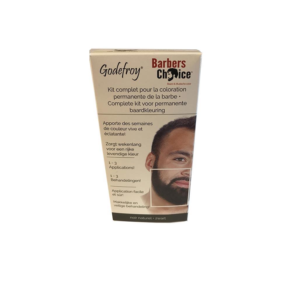 teinture barbe godefroy barbers choice ch tain noir naturel noir naturel bc 3. Black Bedroom Furniture Sets. Home Design Ideas