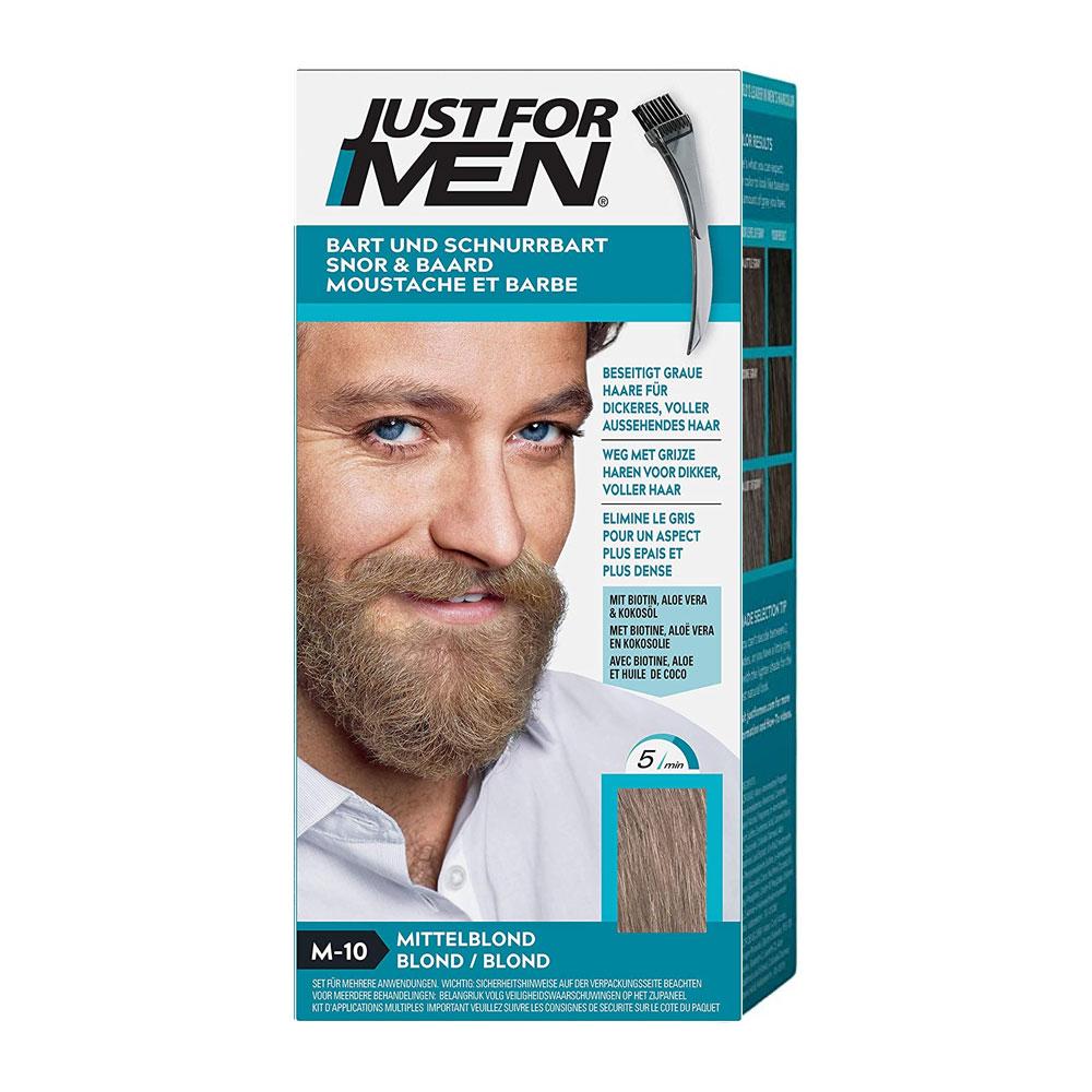 teinture barbe just for men douceur blond jfm10. Black Bedroom Furniture Sets. Home Design Ideas