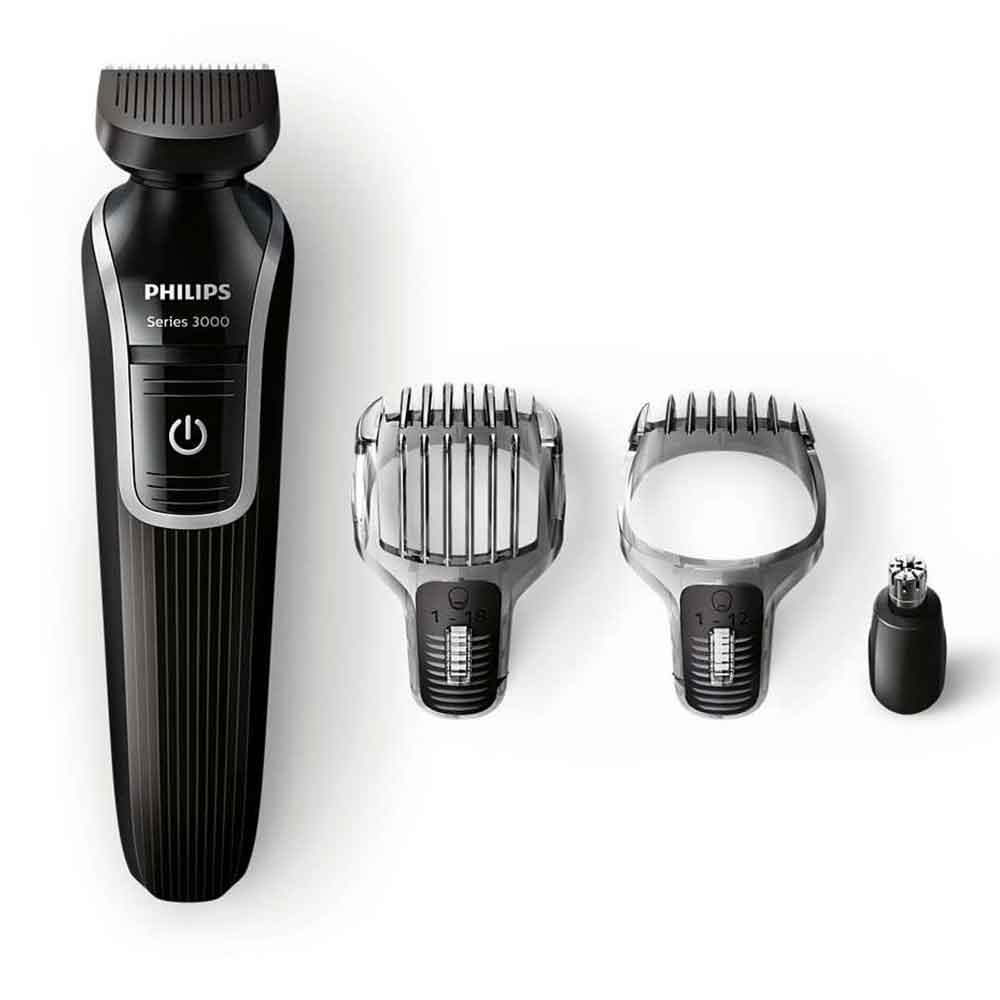 tondeuse barbe philips 35 minutes d 39 autonomie qg3321 noir. Black Bedroom Furniture Sets. Home Design Ideas