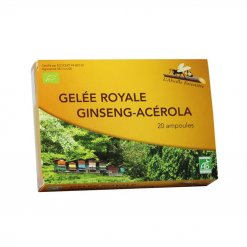 Ampoules Bio Gelée Royale - Ginseng - Acérola