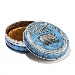 Cire Reuzel Bleue fixation forte à base d'eau