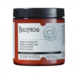 Crème à raser en pot Bullfrog Secret Potion n°1