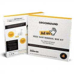Kit d'épilation pour le nez Groomarang