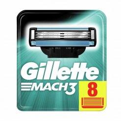 Lames de rasoir Gillette Mach 3 (Pack de 8)