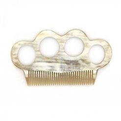 Peigne à barbe Coucot poing américain