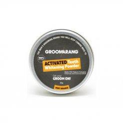 Poudre blanchiment dentaire au charbon actif Groomarang