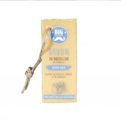 Savon solide du bricoleur au savon noir Big Moustache
