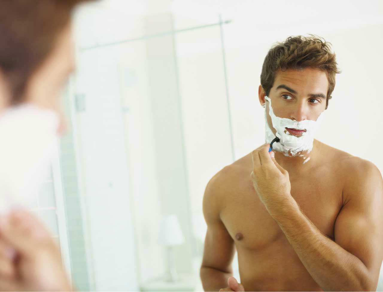clean-shaved-men